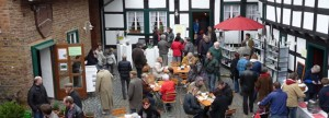 Frühlingsmarkt 2012 war wieder eine großartige Attraktion ím Himmeroder Hof