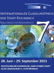 Plakat Internationaler Glaskunstpreis