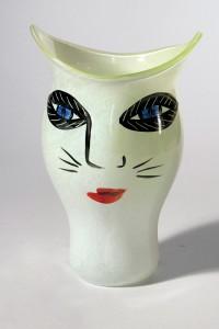 Glasmuseum036. Ulrica Heydam (S) Vase Open Minds